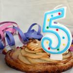 anniversaire enfant 5 ans