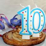 jeux anniversaire 10 ans