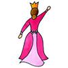 invitation anniversaire princesse dos