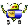 invitation anniversaire robot 5