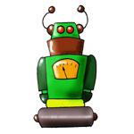invitation anniversaire robots