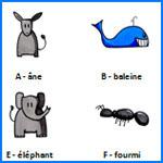 abecedaire maternelle
