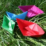 bricolage bateau papier