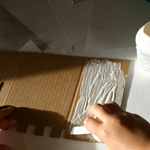 bricolage chateau carton