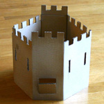 bricolage chateau fort