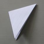 flocon de neige en papier étape 4