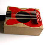 Fabriquer une guitare en carton