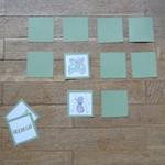 bricolage jeu memory