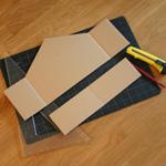 bricolage maison carton