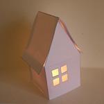 maison papier lanterne