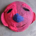 masque papier mache