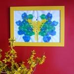 papillon peinture