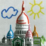 Photos de Paris à colorier