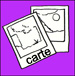 cartes script couleur