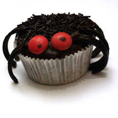 cupcake-araignee