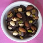 Recette mendiants chocolat