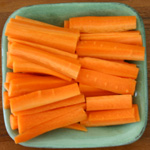 crudites carottes