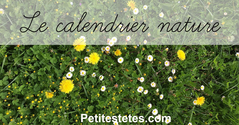 calendrier nature FB