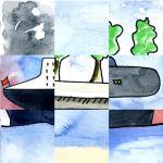 puzzle mosaique bateaux