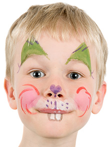 maquillage lapin