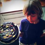 gateau anniversaire bonbons
