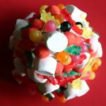 anniversaire pyramide bonbons