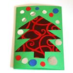 carte voeux papier cadeaux