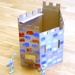 Château en carton
