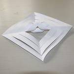 flocon de neige en papier étape 8