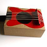 fabriquer une guitare en carton. Black Bedroom Furniture Sets. Home Design Ideas