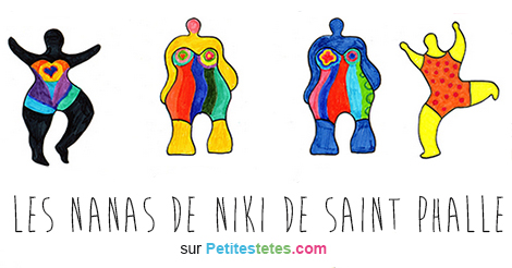 les nanas de niki de saint phalle. Black Bedroom Furniture Sets. Home Design Ideas