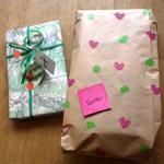 papier cadeau decoré