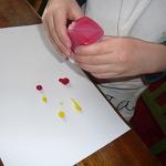 bricolage peinture papillon