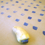 tampon en pomme de terre