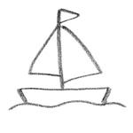 coloriage bateau a voile
