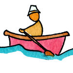 nursery rhyme lyrics Row your boat