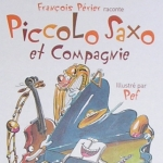 livre enfant piccolo saxo