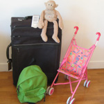 bagages vacances famille