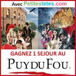 Jeu concours Puy du Fou 2013