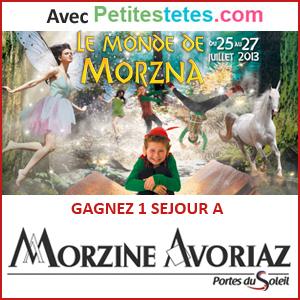 Jeu concours les petites têtes au festival du monde de Morzna
