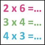 tables multiplication 1